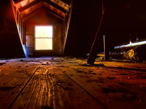 Attic picture by Jamie Beverly