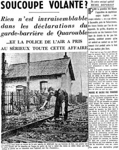 Newspaper Nord-Eclair, Lille, France, September 16, 1954