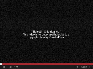 copyright video ohio bigfoot