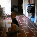 Video: 'Gnome' Startles Toddler's Family in Argentina
