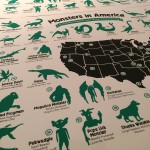 Philadelphia Artist Releases First Cryptozoolog ical Map of the United States