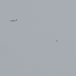 Canadian Captures Images of Pyramid-Shaped UFO Next to Commercial Planes